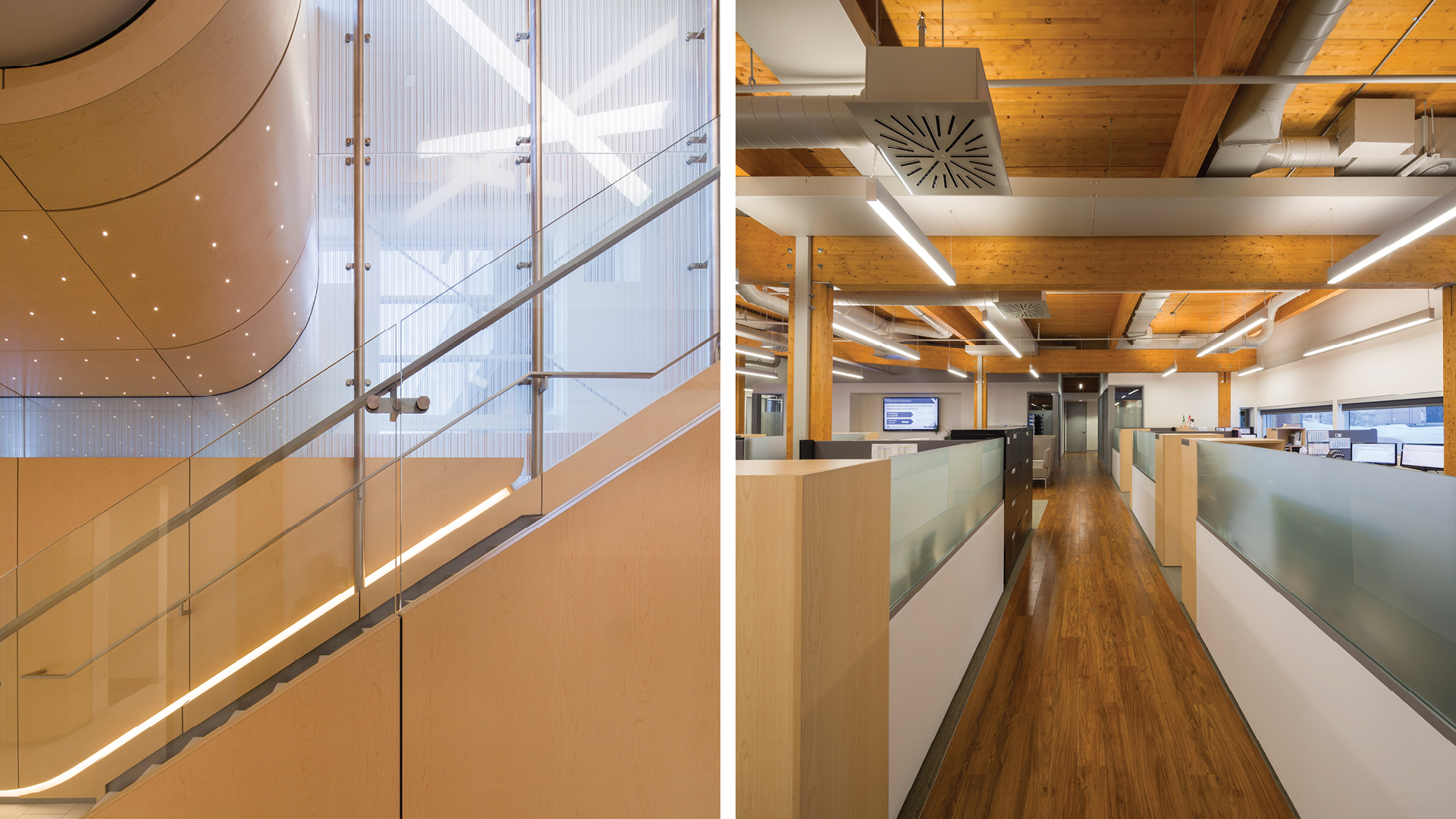 Nordic structures engineered wood projects