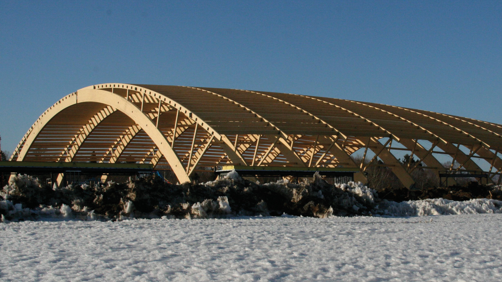 Construction Hangar Bois Prix nordic structures | nordic.ca | engineered wood | projects