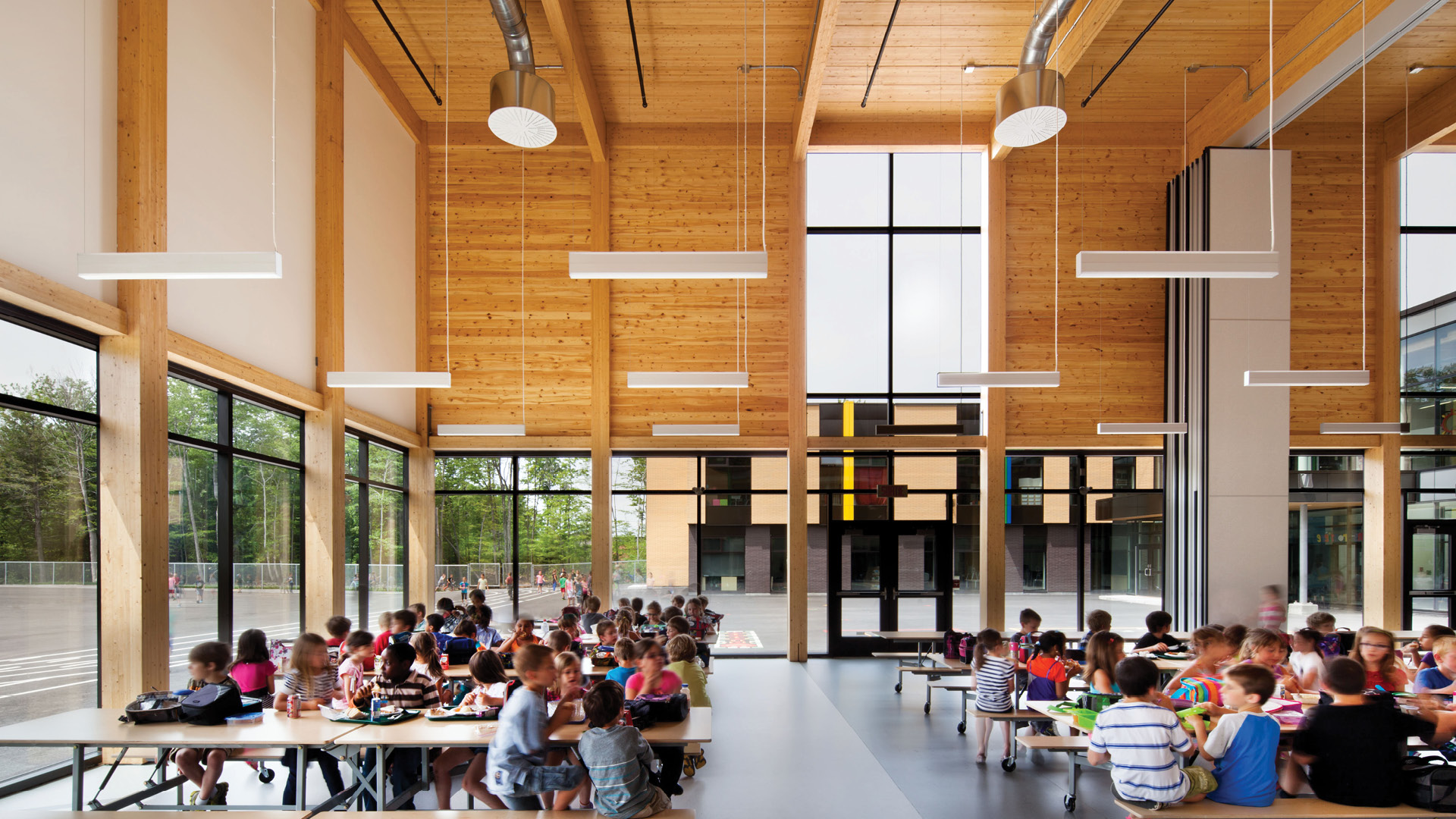 Nordic structures engineered wood projects for Ecole architecture interieur