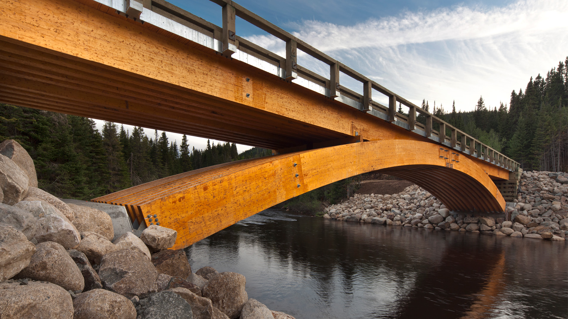 Montmorency South Forest Bridge