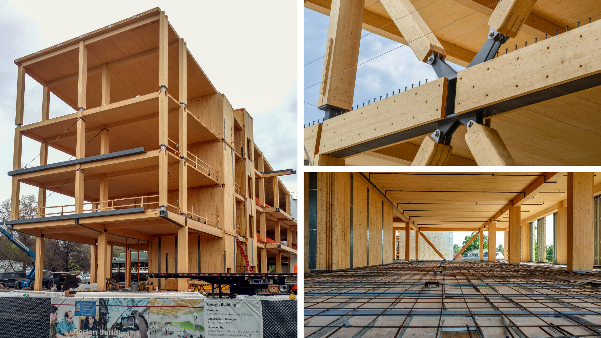 Nordic structures engineered wood projects for Design build construction